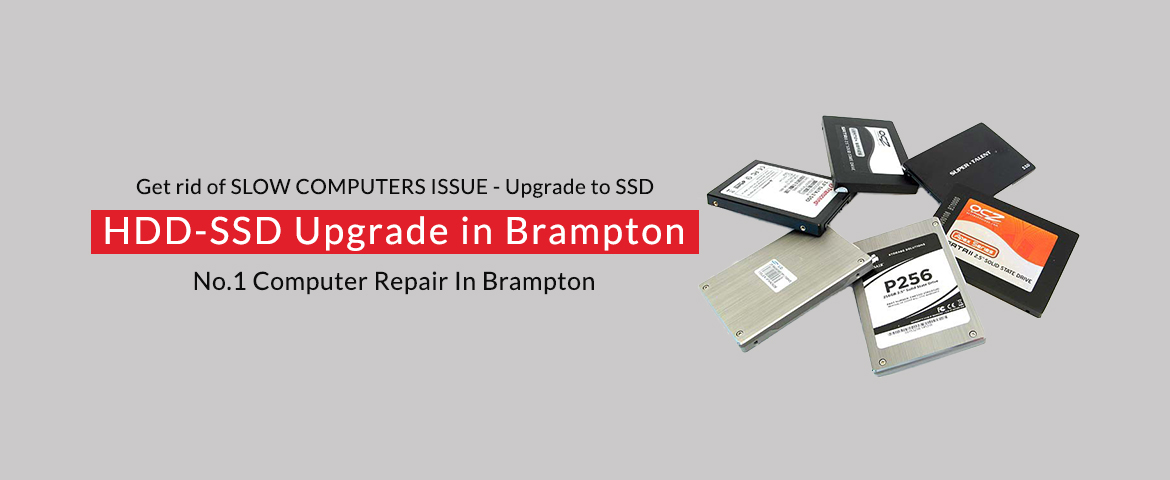 HDD-SSD Upgrade in Brampton